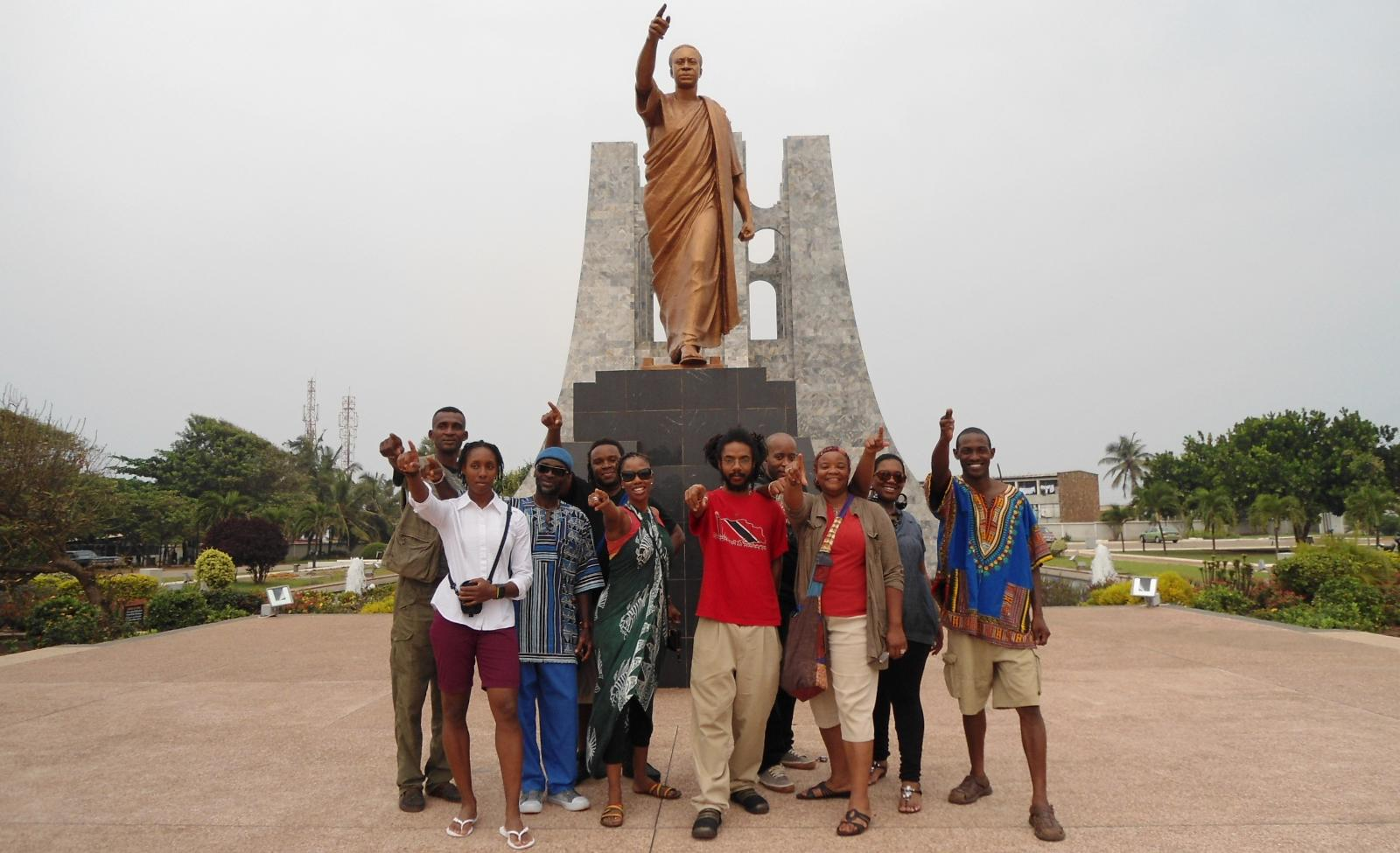 Ghana Repatriation & Investment Tour Group July 2011