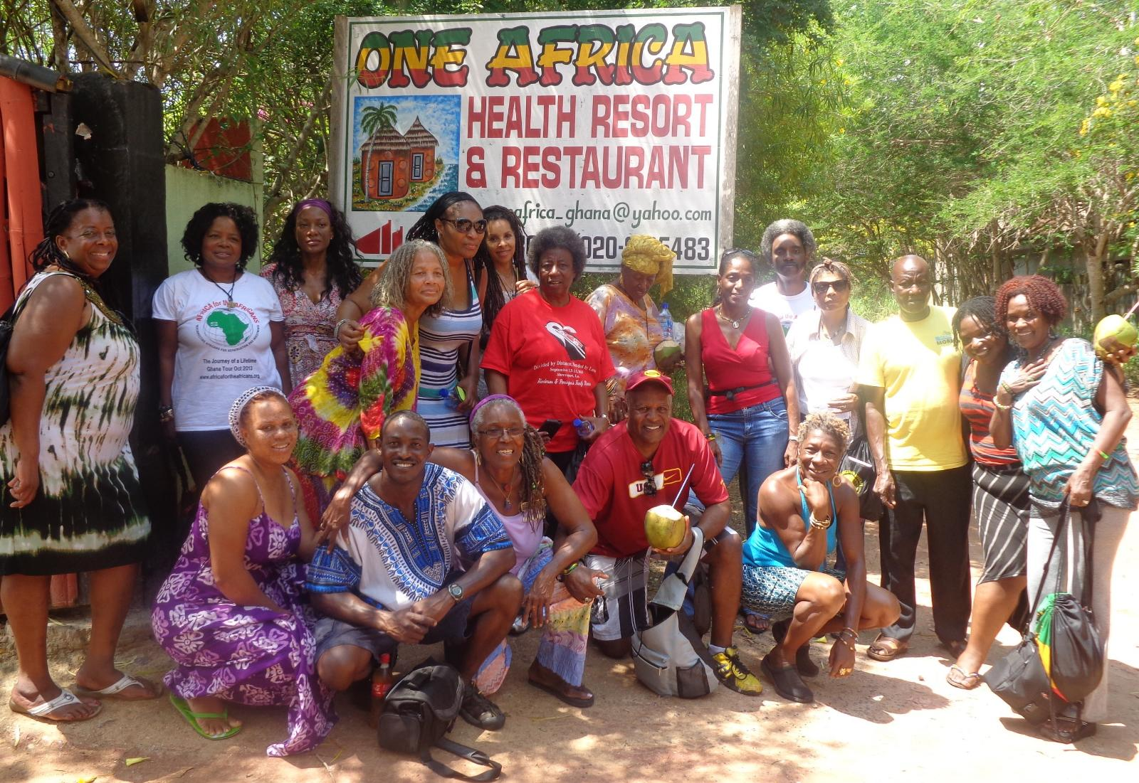 Ghana Repatriation & Investment Tour Group Oct 2013